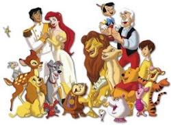 La familia Disney