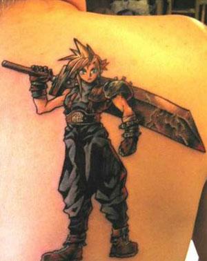 Tatuagens: Postem as que vcs já viram. Final-fantasy-tattoo
