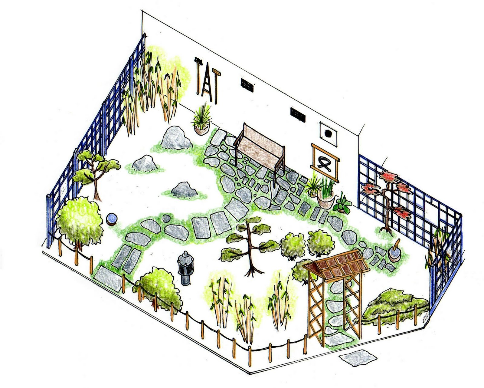 Amazing Plan For Memorial Garden 2009
