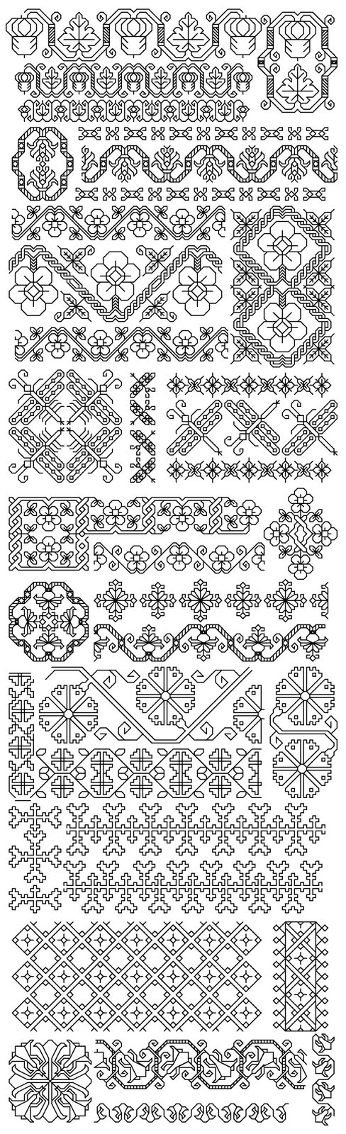 Images about embroidery blackwork on pinterest