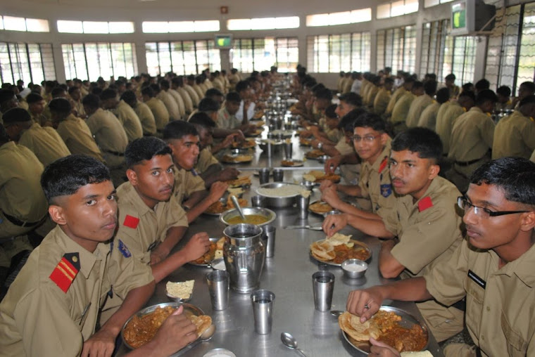 Cadets in the Mess -Vijayanagar Table