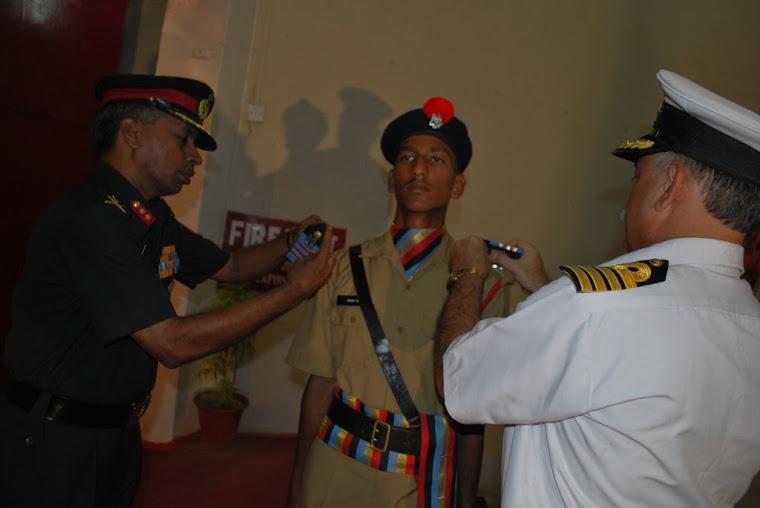School  Captain Channappa S Kondagulli