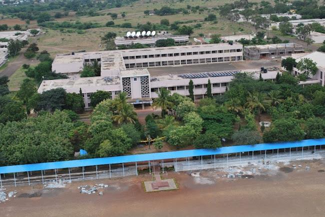 Sainik School Bijapur- main building-front view