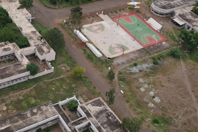 Sainik School Bijapur -new basket ball court