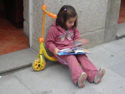 Cualquier momento es bueno para leer...