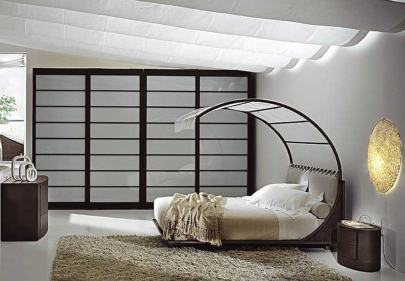 3d design unique beds for Chambre a coucher design