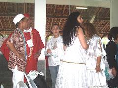 Participantes do CEOI - Centro Espirita Ogum com Iansã de Vassouras