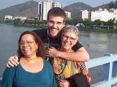 Os 3 participantes de Niterói no Encontro de F&P de Barra Mansa
