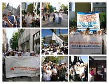 promotores en plaza de mayo
