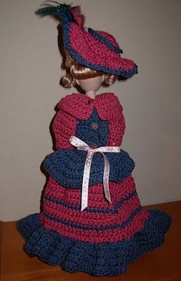 Worry Wood Dolls - Christmas Crafts, Free Knitting Patterns, Free