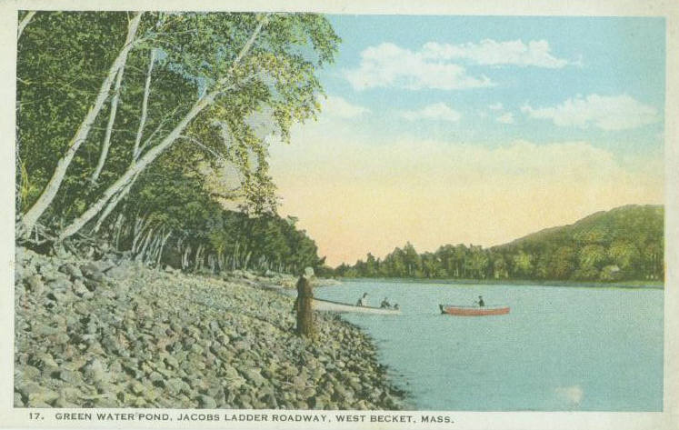 Exploring western massachusetts postcards berkshire for Green water in pond