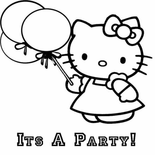 Coloring Blog for Kids: Hello kitty coloring pages