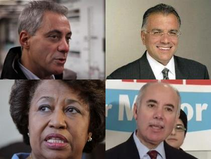 non-profits sent letters to all of Chicago's mayoral candidates asking