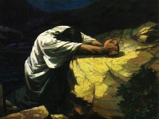 gambar Yesus berdoa