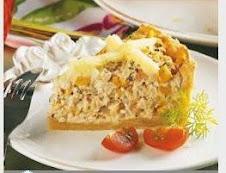 TORTA DE FRANGO COM CATUPIRY