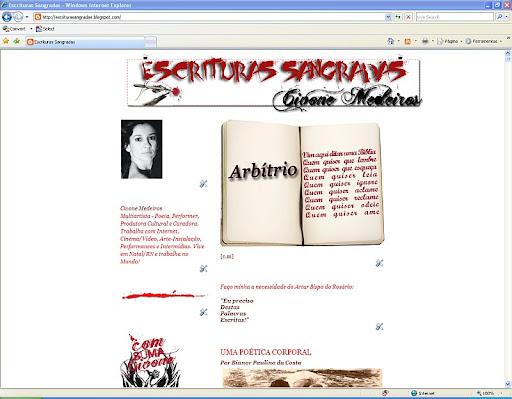 Visite as ESCRITUAS SANGRADAS de Civone Medeiros