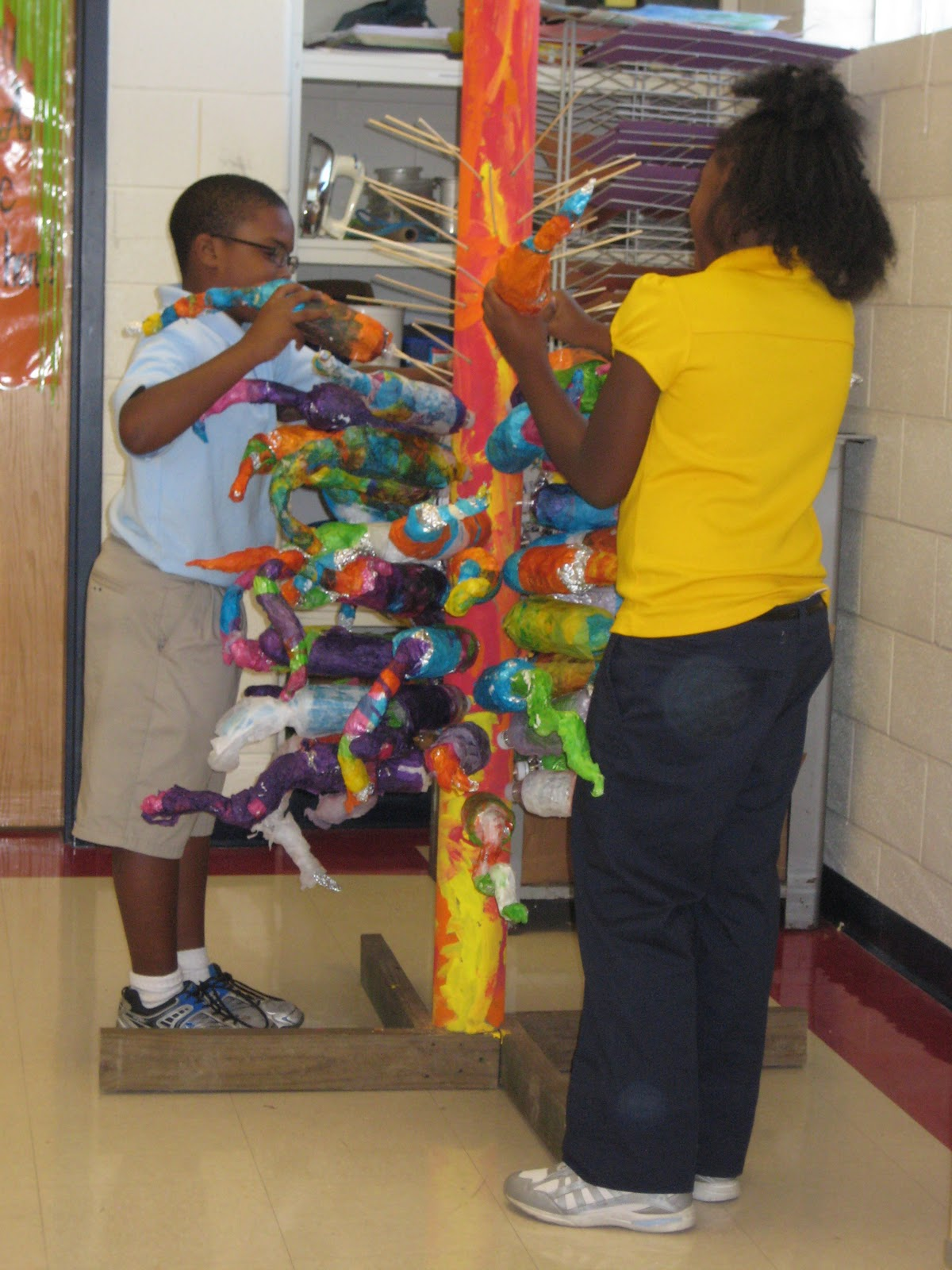 Mnps Chihuly Art Lessons Chihuly Sculpture 4th Grade