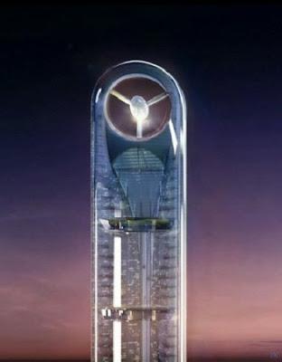 Впечатляющий небоскрёб в Дубае Anara Tower