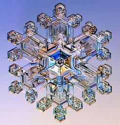 Cristal de apă tratată