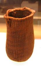 Cestillo de esparto de 5.000 a.C.