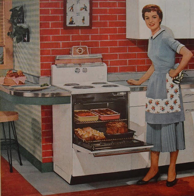 Vintage Kitchen Photography: Let's Just Ask The Ladies