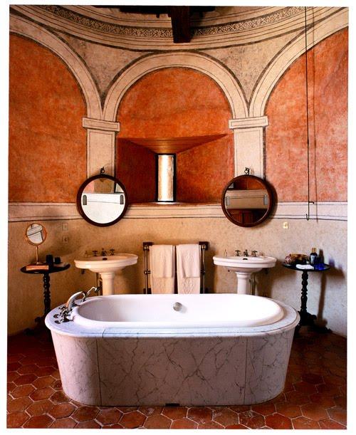Design squared soaking in inspiration Bathroom design apartment therapy