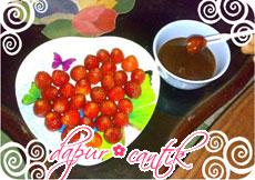 Gambar Masakan Stroberi Mandi Cokelat Dapur Cantik
