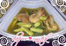 tauco udang dapur cantik