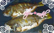panggang ikan ekor kuning dapur cantik