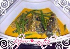 gulai ikan asin dapur cantik