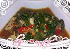 sayur tauco kangkung dapur cantik