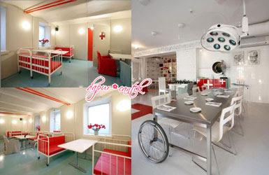 Desain interior RM Hospitalis - Latvia