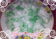 kue rumput laut dapur cantik
