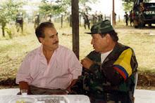 Presidente colombiano em acampamento das FARC-EP