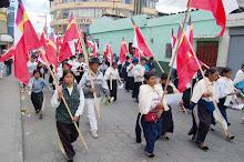Marcha da FENOCIN-Equador