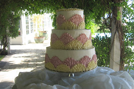 3-tier round buttercream