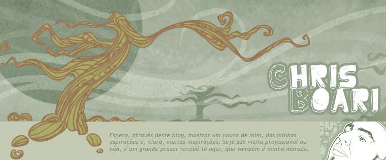 Chris Boari - Abstrações,  Ilustrações,  Concepções e Ilusões.
