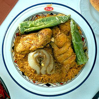 La Cuisine Tunisienne Au Jardin Des Delices Last Night In Orient