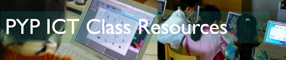 PYP ICT Class Resources