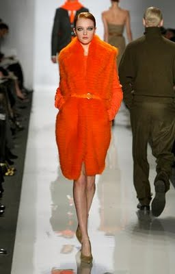 [orange+michael+kors+coat]
