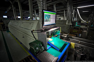 SAMSUNG factory in Kaluga , Russia