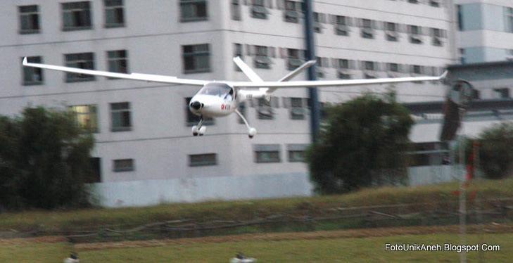 Pesawat Terbang Ramah Lingkungan Dengan Tingkat Kebisingan Rendah