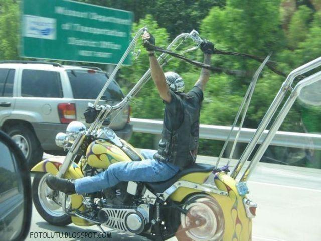 Moge (Motor Gede) Khusus Untuk Yang Suka Pamer Ketek
