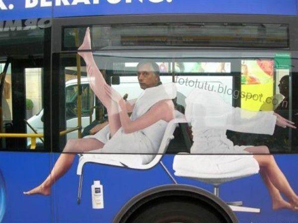 Iklan Bis Kota Nggak Cocok Sama Penumpang