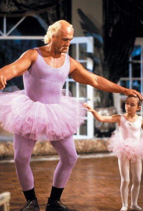 Pake Baju Balet Warna Pink