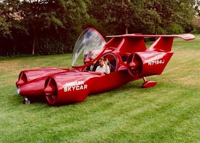 Mobil Terbang Mendekati Impian