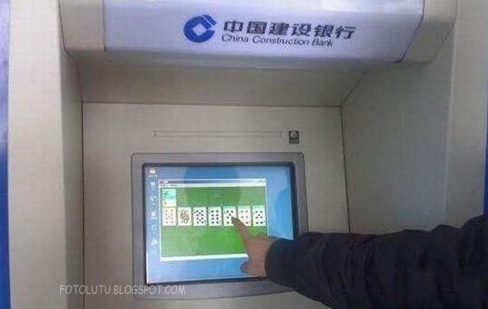 Maen Solitaire Di ATM
