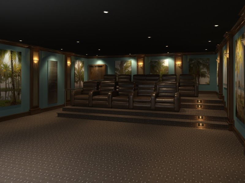 Home Theater Design And Beyond By 3 D Squared Inc Home Theater Design Beach Scene