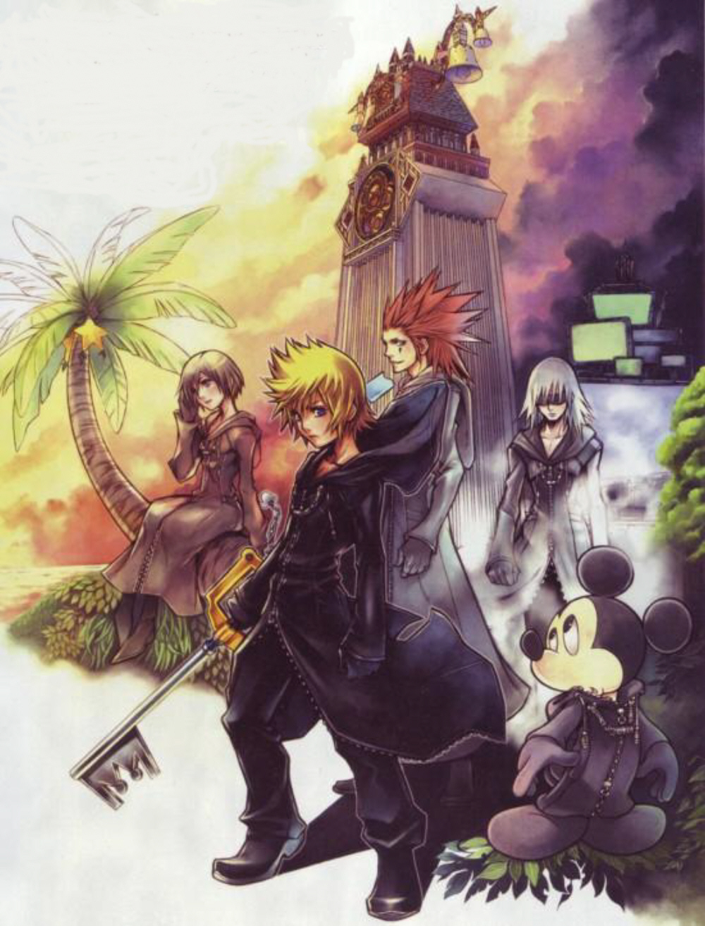 Kingdom Hearts 358/2 Days, Vol. 4 by Shiro Amano (English) Paperback Book