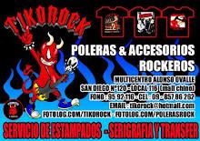 POLERAS Y ACCESORIOS ROCKEROS - SAN DIEGO  Nº120-LOCAL - 116